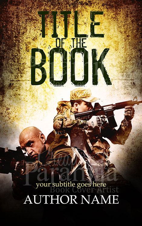 military action ebook cover