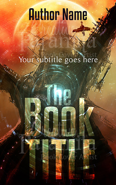 Sci fi premade book cover