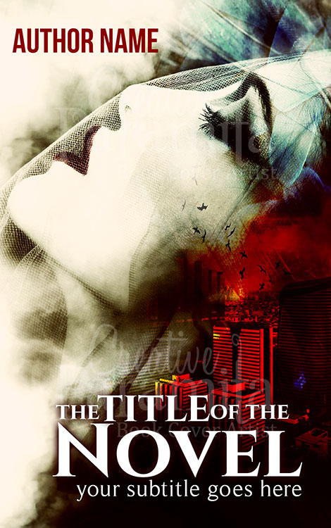crime thriller premade book cover