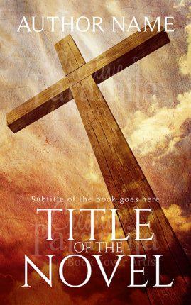 religious premade book cover