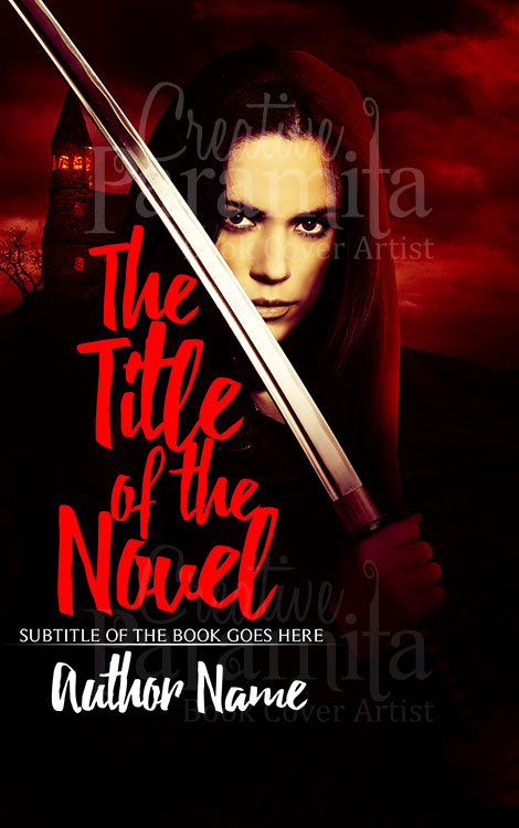 premade book cover