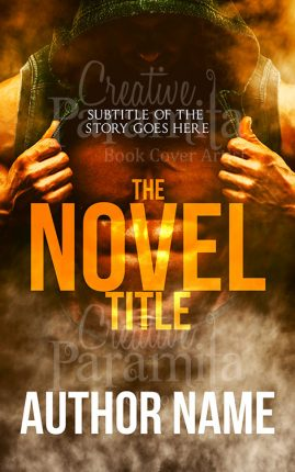premade book cover action