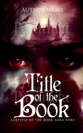 vampire premade book cover