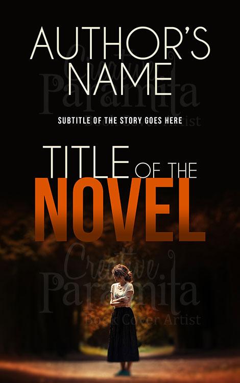 non fiction premade book cover