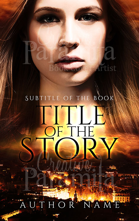 hunter premade book cover