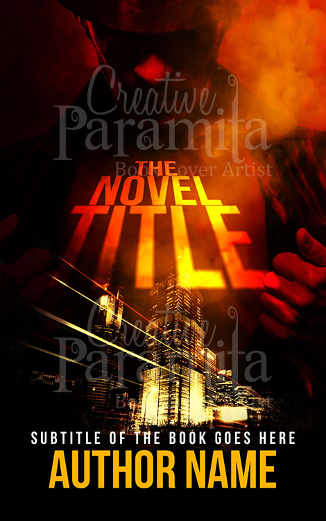 premade book cover crme