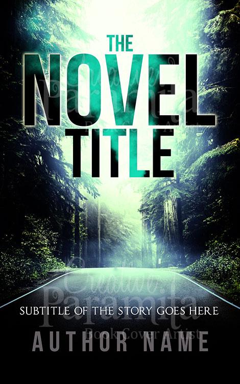 adventure premade book cover