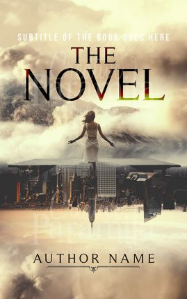 unravel premade book cover