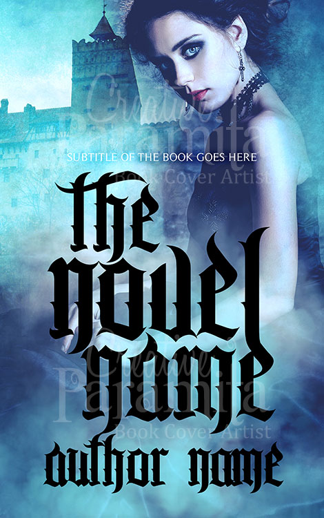 Gothic romance ebook cover