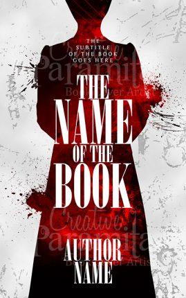 crime suspense premade book cover