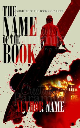 Thriller premade book cover