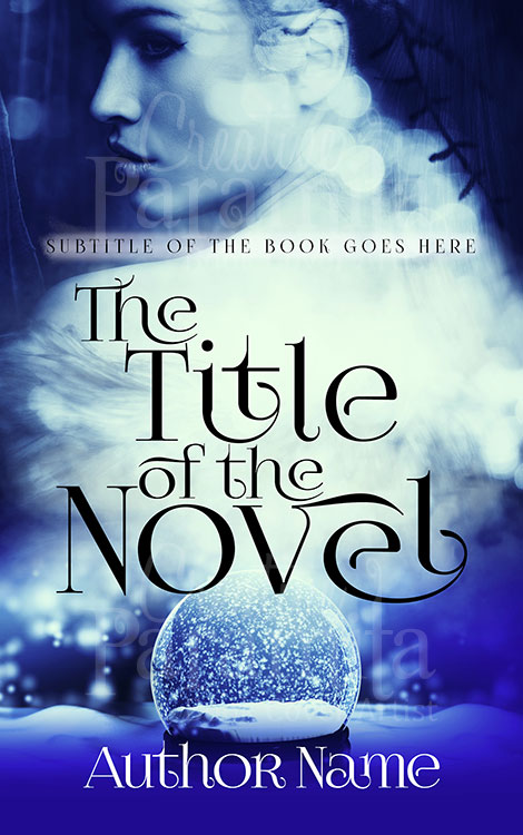 mystery premade book cover