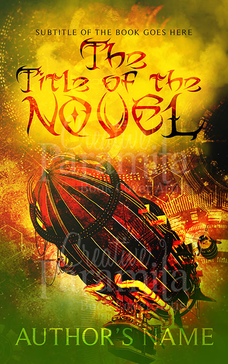 steampunk ebook cover
