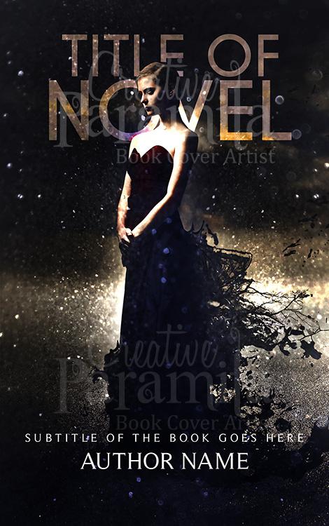 drama premade book cover
