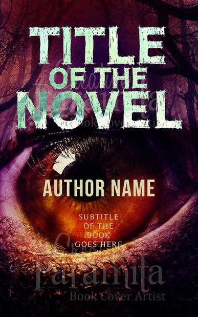 horror eye eBook cover design