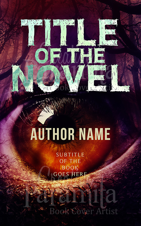 horror eye eBook cover design