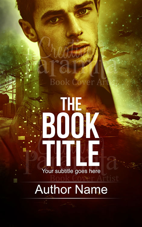 sci fi war premade ebook cover