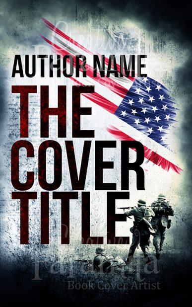 war ebook cover design