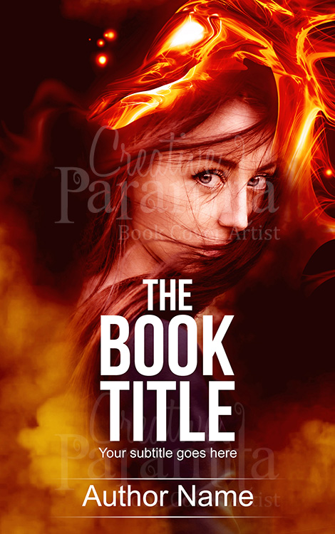 fantasy eBook cover design