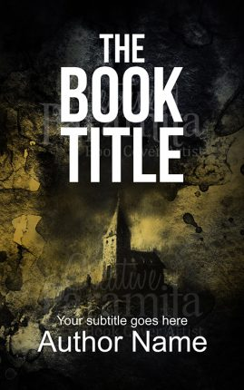 castle premade book cover design