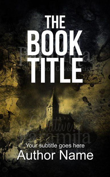 castle premade book cover design
