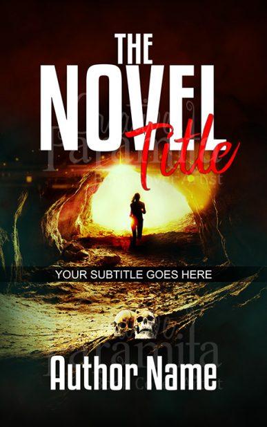 suspense thriller book cover design