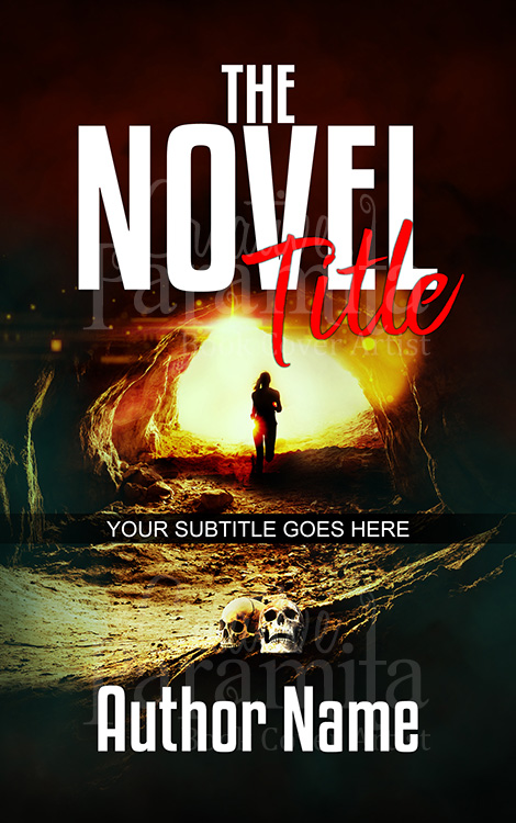 suspense thriller book cover design