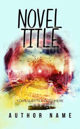 action thriller book cover design