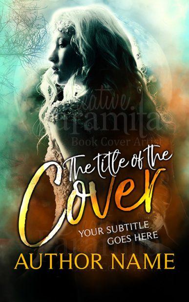 fairy book cover design