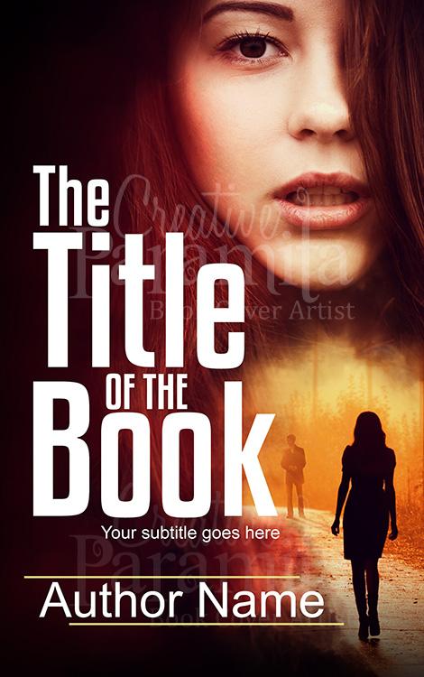 thriller book cover design