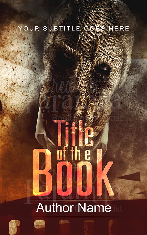 thriller premade book cover design