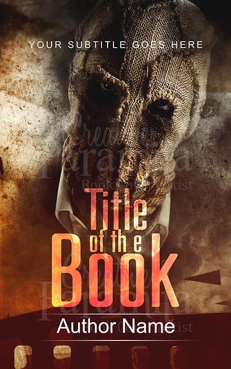 thriller premade book cover design