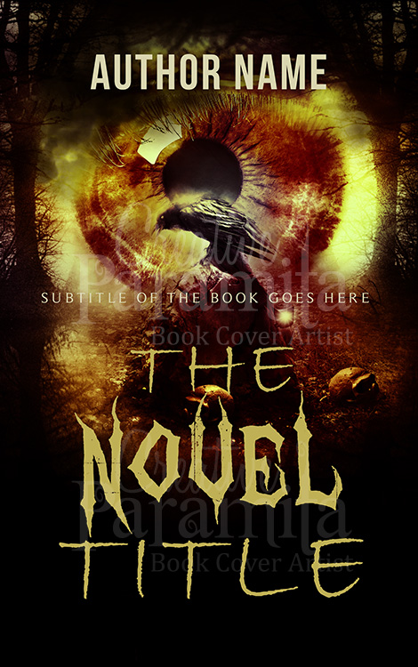horror eBook cover design