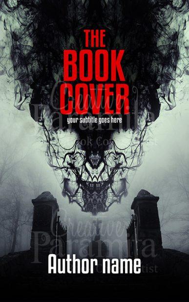 horror premade book cover