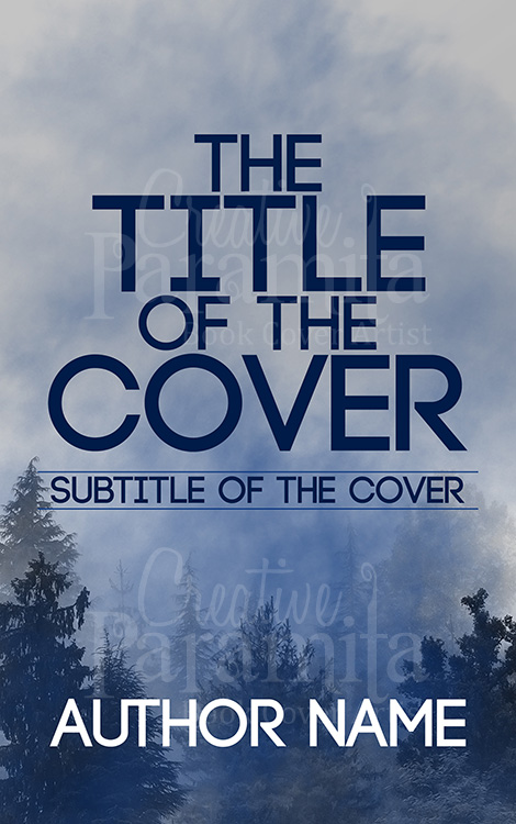 premade eBook cover design