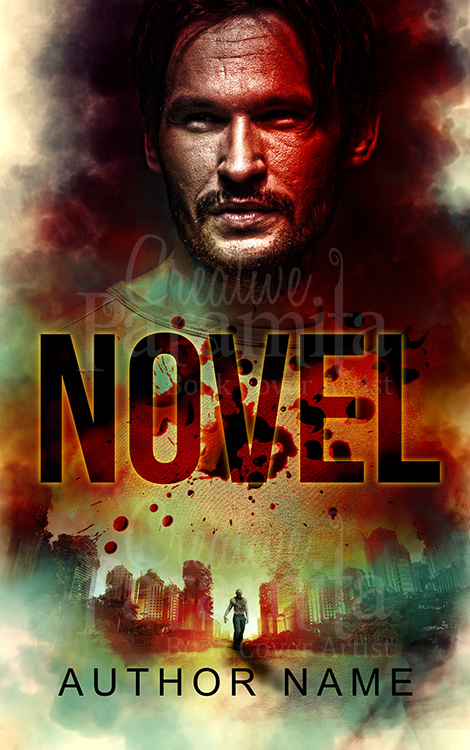 zombie book cover design