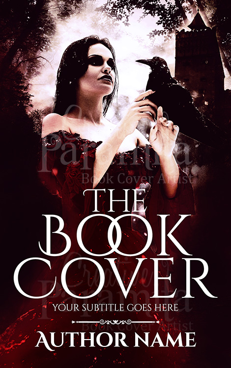 witch book cover design
