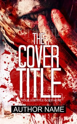 cannibalism premade book cover
