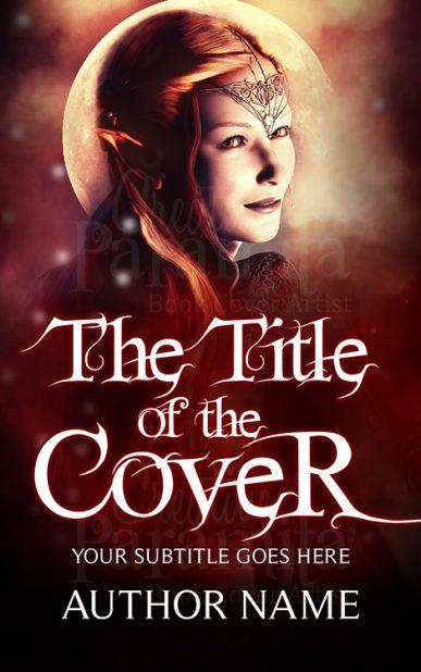 elf fantasy book cover design