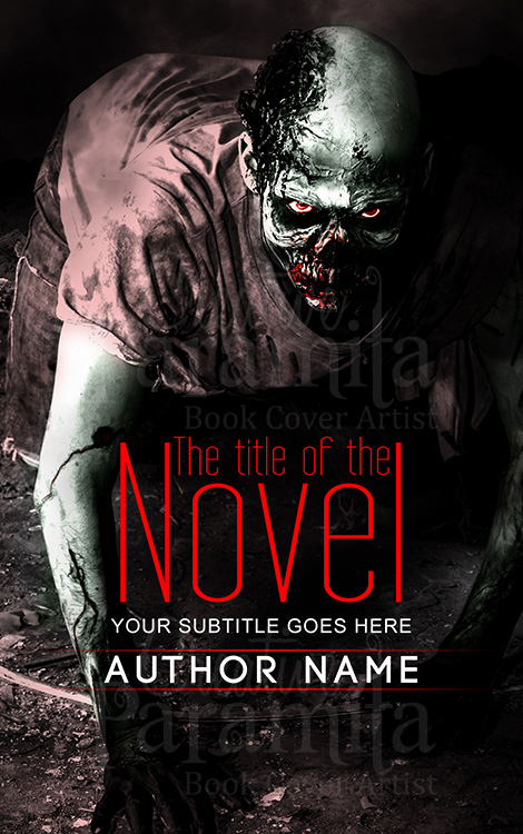 zombie premade cover design