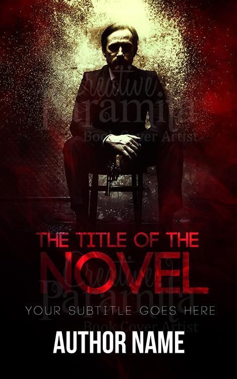 crime premade book cover