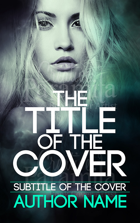 romance fantasy book cover design