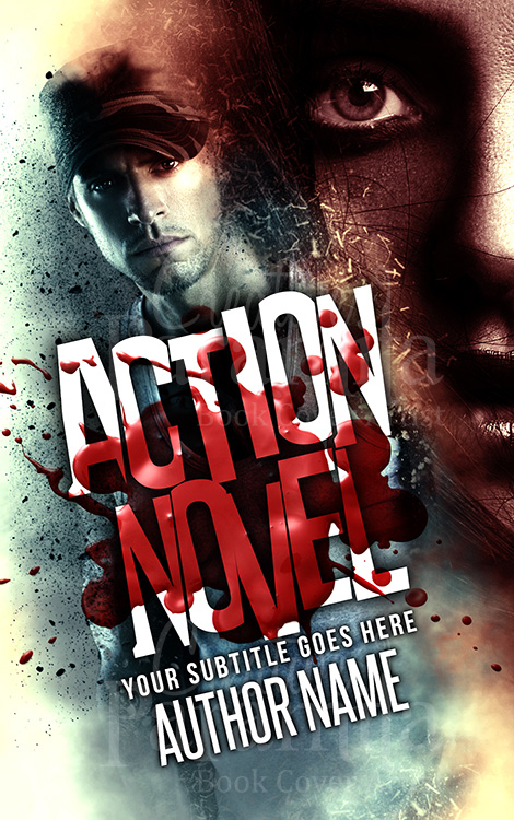 killer premade book cover