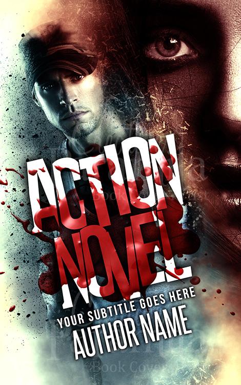 killer premade book cover
