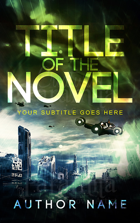 sci fi book cover design