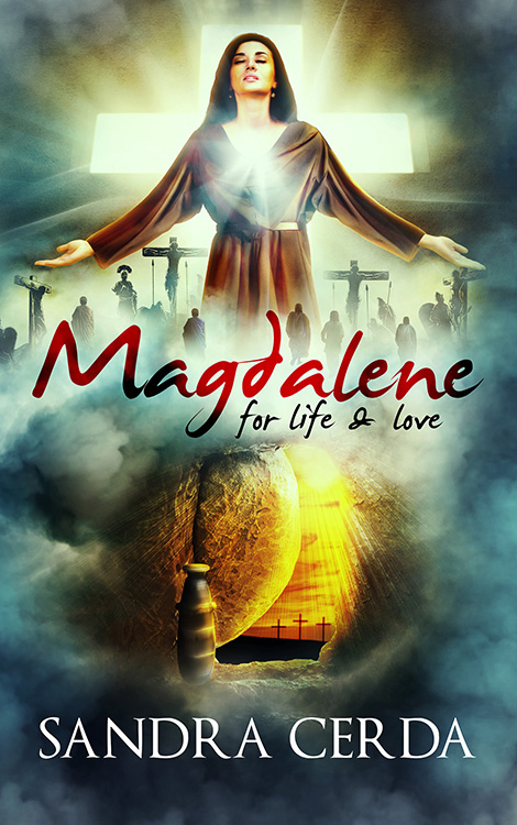 Magdalene ebook cover design