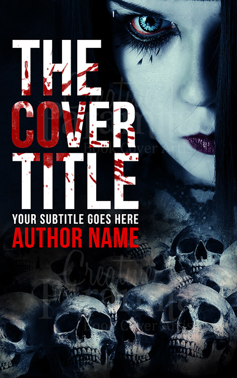 horror book cover design