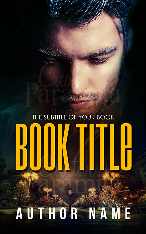premade book cover design