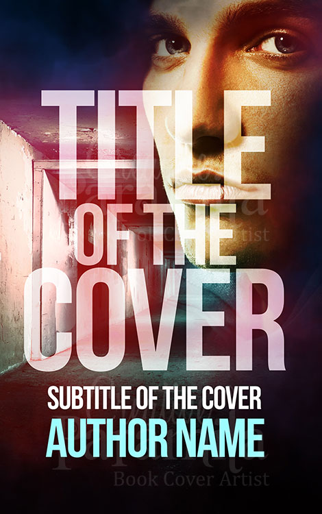 thriller action premade book cover