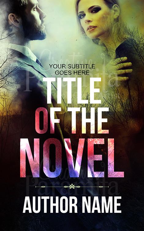 romance drama premade book cover